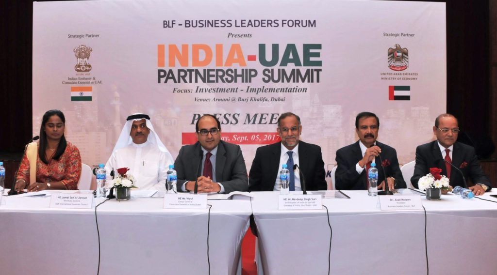 UAE and India working to substantially augment trade and