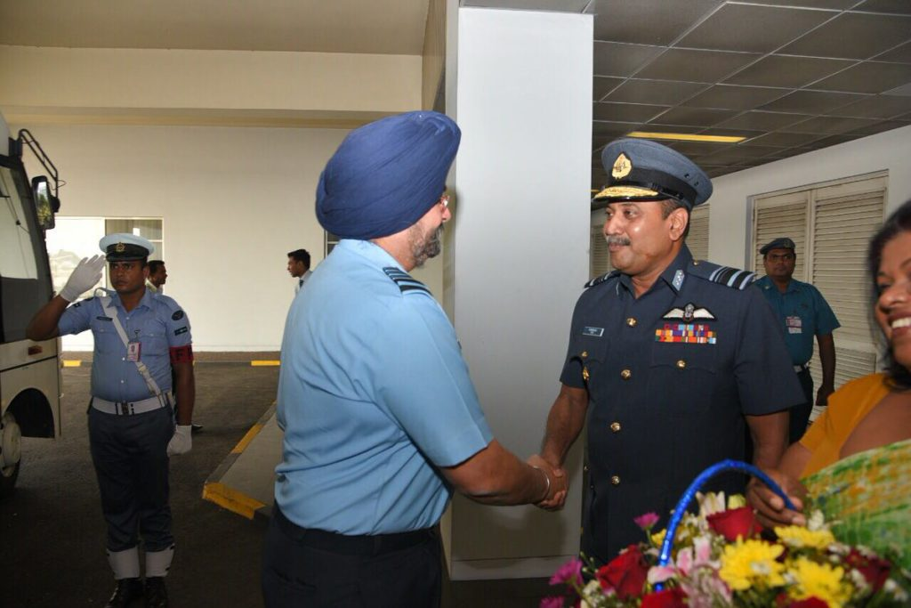 Visit of Chief of the Air Staff to Sri Lanka