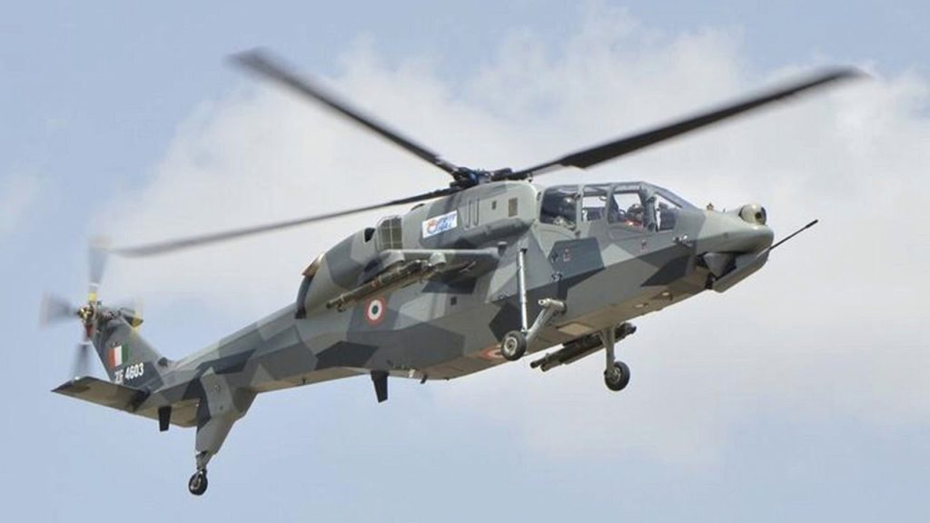 Boost to Indigenous Light Combat Helicopter