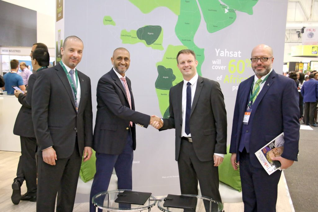 Yahsat partners with BLUETOWN to connect the unconnected across YahClick's footprint 1