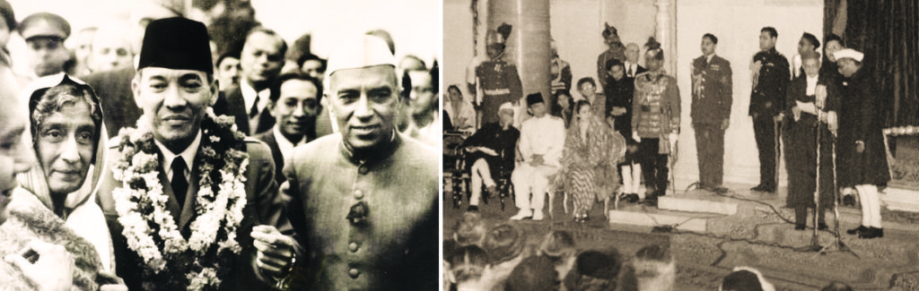 Sukarno First Chief Guest 1950
