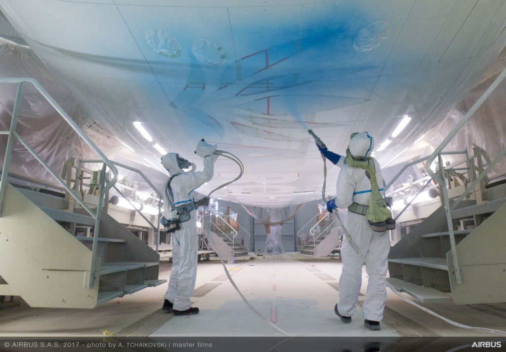 Airbus' Toulouse paint centre: Art in motion – India Strategic