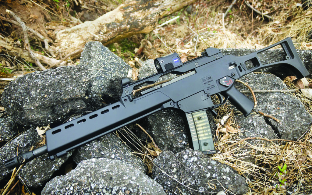 Heckler & Koch G36 5.56 mm assault rifle
