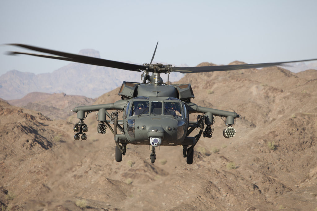S-70 Black Hawk helicopter