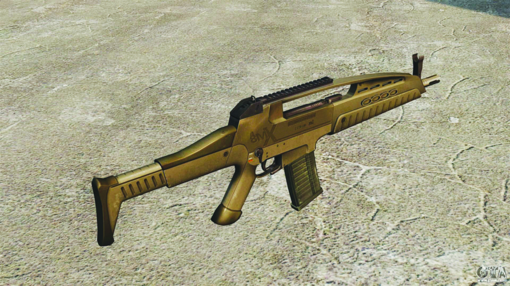 XM 8 assault rifle US