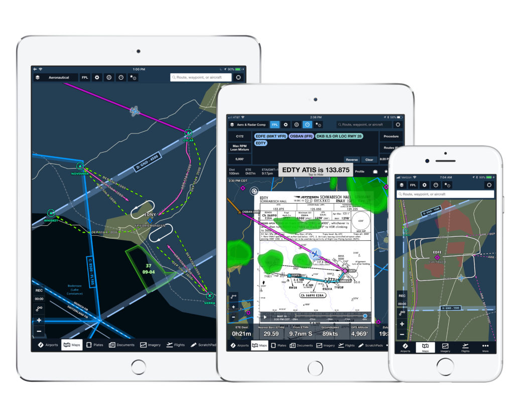 Foreflight mobile to feature jeppesen visual flight rules data foreflight jeppesen vfr image 2018 sciox Images