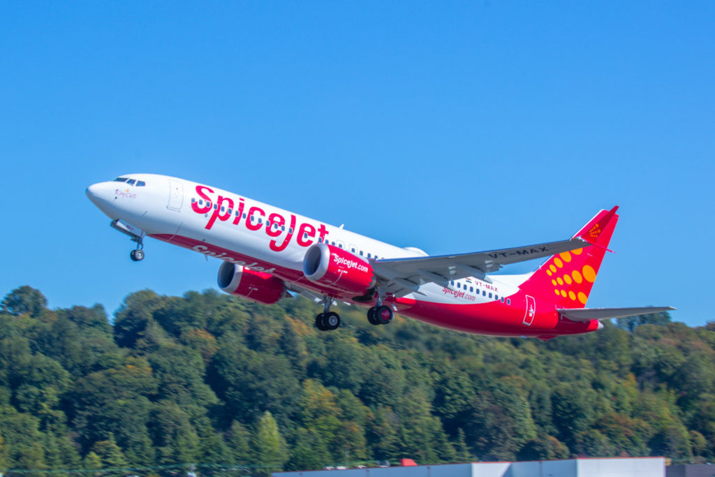 Boeing SpiceJet 737 MAX 8