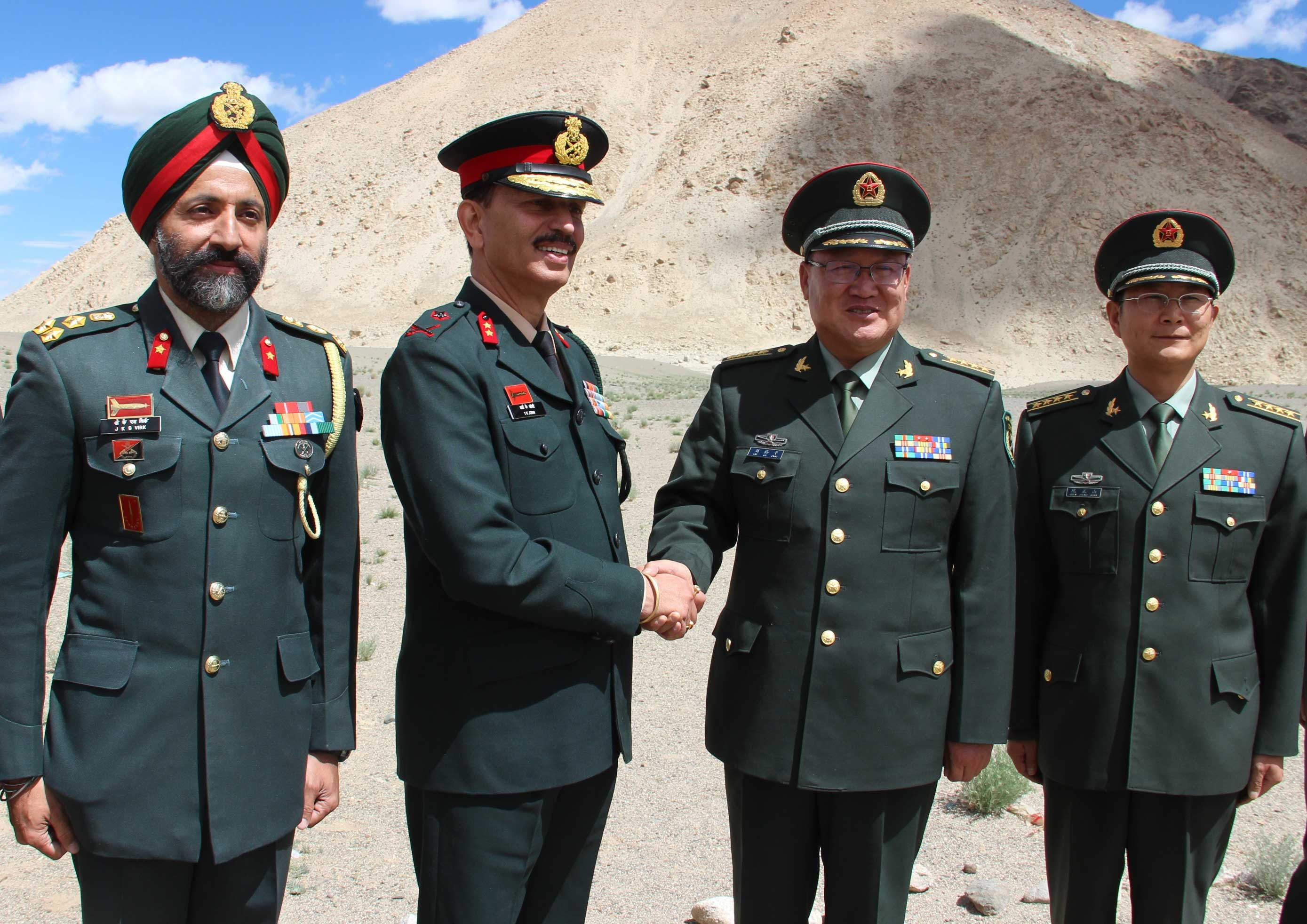 India Strategic ::. Army: Indian Army Hosts Chinese PLA On