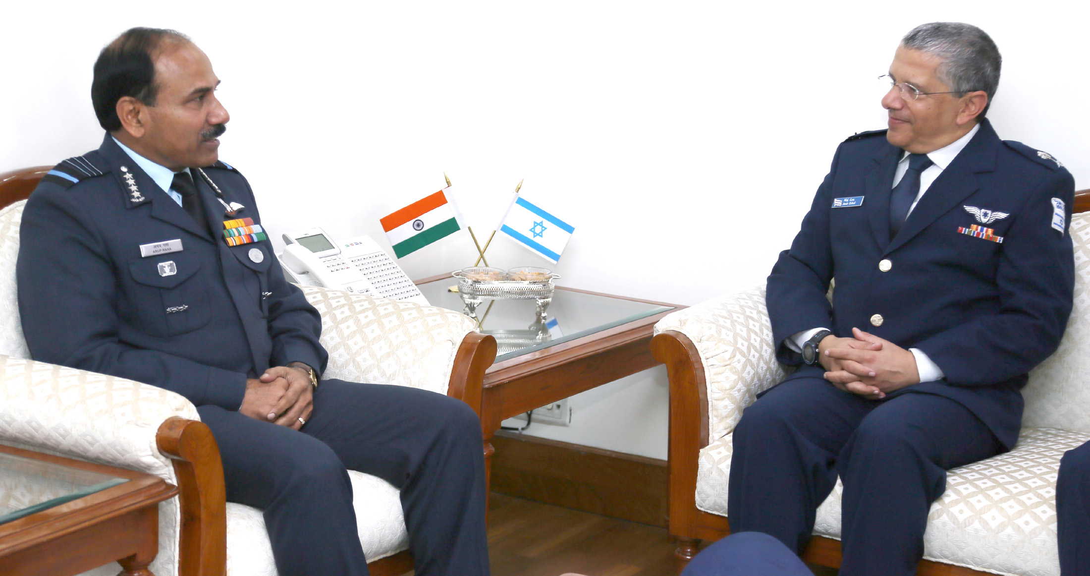 India Strategic ::  Air Force: Israeli Commander of Air and