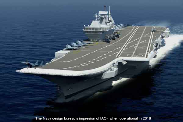 India's Vikrant aircraft carrier could get Russian weaponry - The ...
