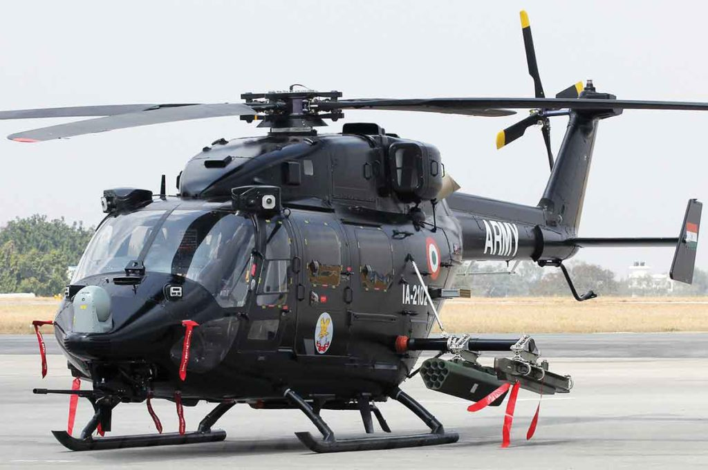 Indian Army to Arm Itself with Missile-fitted Helicopters