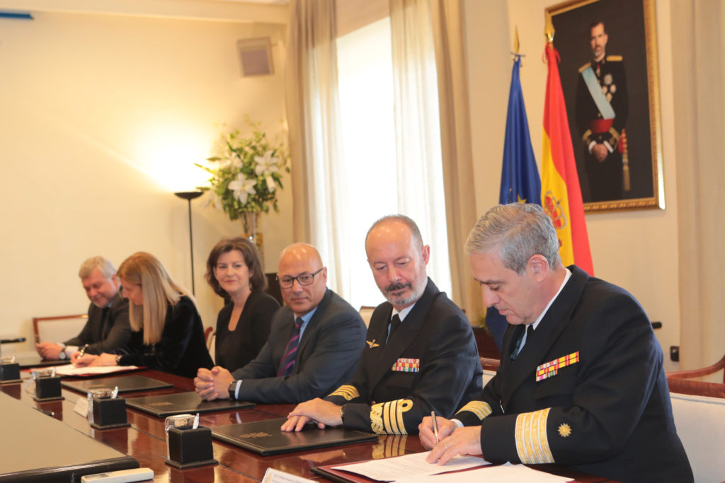 NAVANTIA signs the contract for the construction of F110